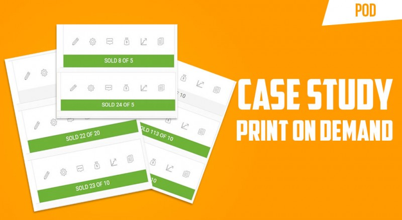 case study print on demand e-commerce