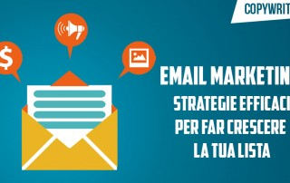 email marketing strategie per crescere lista