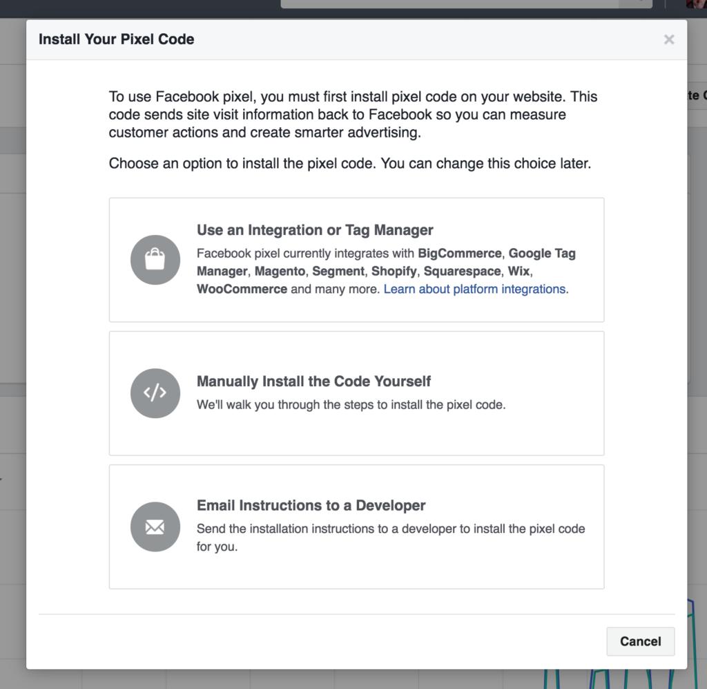 Istallare Facebook Pixel sul tuo sito