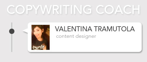 copywriting coach per commercio elettronico