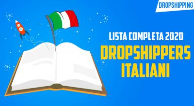 dropshipping italiani 2020